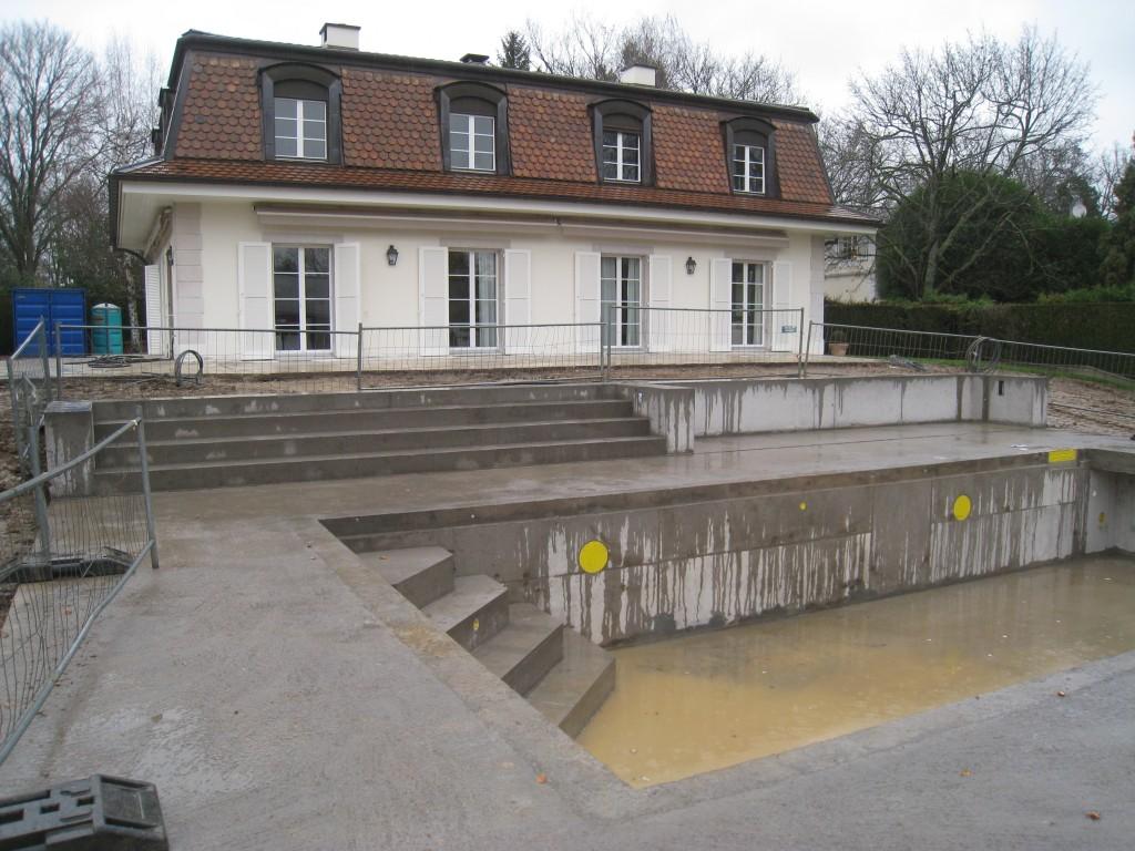 Chemin de souvairan gen ve fe architecte for Construction piscine vaud